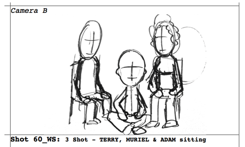 Storyboard from Saturday